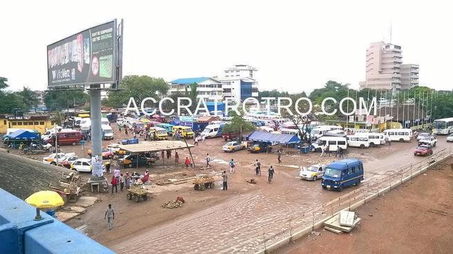 Circle Labadi trotro station reopens